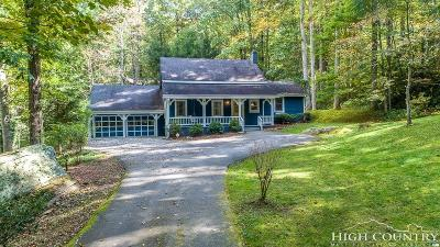Watauga County Single Family Home For Sale: 575 Schaffer Road