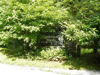 Blowing Rock Single Family Home For Sale: Lot 25 Wonderland Woods Drive