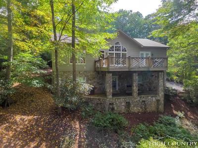 Ashe County Single Family Home For Sale: 445 Mountain Aire Lane