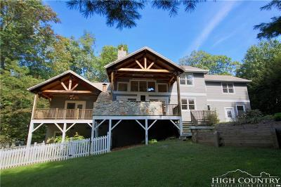 Watauga County Single Family Home For Sale: 177 Wind Walker Court