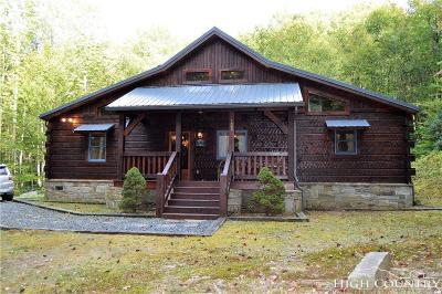 Beech Mountain Single Family Home For Sale: 133 Buckeye Ridge Rd