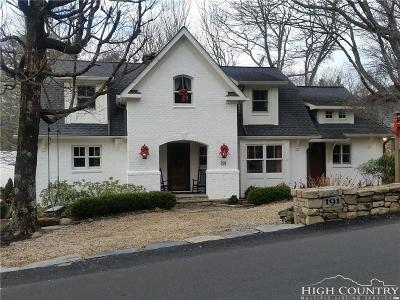 Blowing Rock Single Family Home For Sale: 191 Chestnut Drive