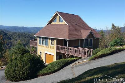 Watauga County Single Family Home For Sale: 114 Shuck Pen Road