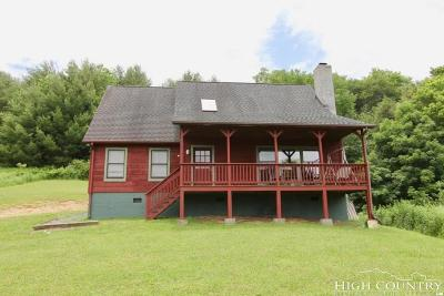 Avery County Single Family Home For Sale: 240 Ramsey Hollow Lane