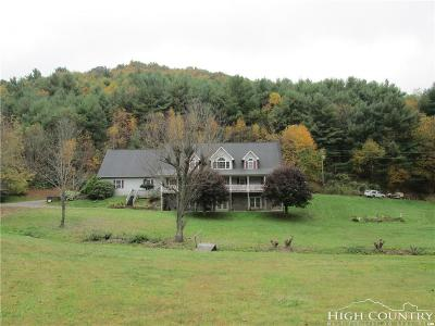 Ashe County Single Family Home Under Contract - Show: 1200 Park Vista Road