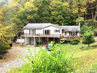 Avery County Single Family Home For Sale: 445 Sam Eller Road