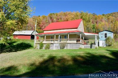 Watauga County Single Family Home For Sale: 929 Council Ward Road