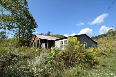 Ashe County Residential Lots & Land Under Contract - Show: 442 Old Field Creek Road