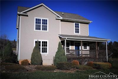 Ashe County Single Family Home Under Contract - Show: 285 Church Meadows Court