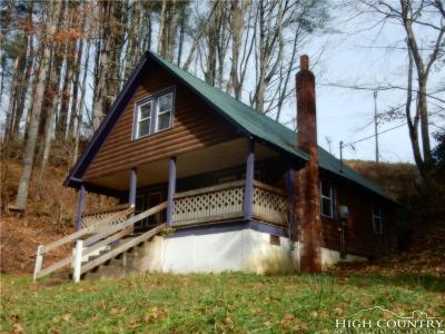 Alexander County, Caldwell County, Ashe County, Avery County, Watauga County, Burke County Single Family Home Under Contract - Show: 510 Lois Lane