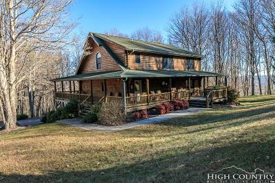 Ashe County Single Family Home For Sale: 1453 Bare Knob Road