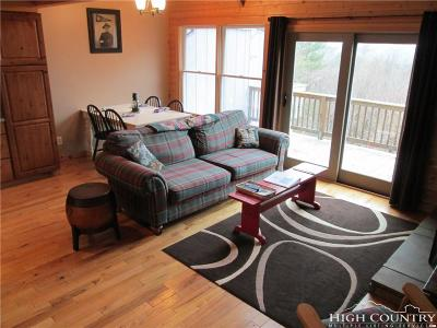 Ashe County Condo/Townhouse For Sale: 208 Gap Trail #C