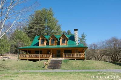 Ashe County Single Family Home For Sale: 790 Upper Cranberry Creek Road
