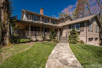Blowing Rock Single Family Home For Sale: 172 Norwood Circle