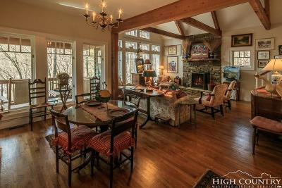 Alexander County, Ashe County, Avery County, Burke County, Caldwell County, Watauga County Single Family Home For Sale: 163 Thunderhead Road
