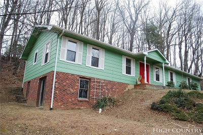 Ashe County Single Family Home For Sale: 334 Mountain Valley Drive