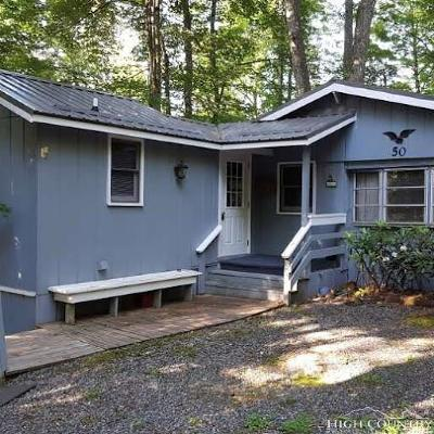 Linville Single Family Home For Sale: 50 Jack Pine Loop