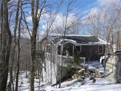 Beech Mountain Single Family Home For Sale: 115 Upper Grouse Ridge Road