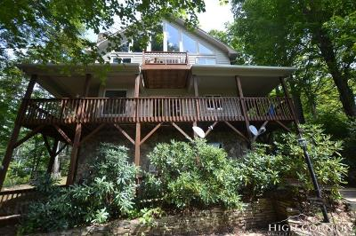 Ashe County Single Family Home For Sale: 472 Laurel Mountain Estates Drive
