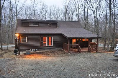 Beech Mountain Single Family Home For Sale: 104 S Hickory Lane