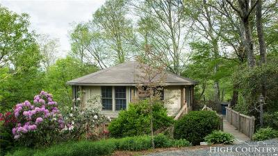 Blowing Rock Single Family Home For Sale: 1369 Goforth Road Road