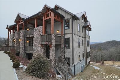 Watauga County Condo/Townhouse For Sale: 168 Red Tail Smt Ch-6 (Top Floor)