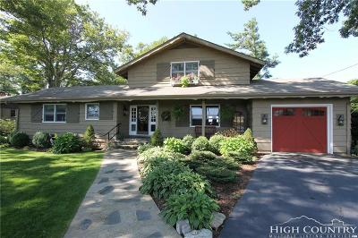 Blowing Rock Single Family Home Under Contract - Show: 595 Green Hill Circle