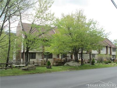 Beech Mountain Condo/Townhouse For Sale: 104 Snowplow Lane #7