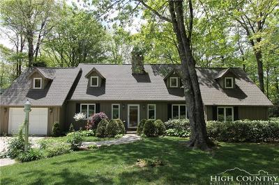 Blowing Rock Single Family Home For Sale: 151 Edge Hill Lane