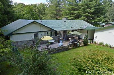 Avery County Single Family Home For Sale: 6670 Hickory Nut Gap Road