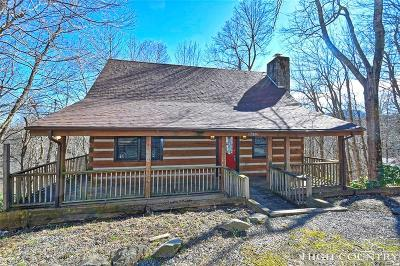 Alexander County, Burke County, Caldwell County, Ashe County, Avery County, Watauga County Single Family Home For Sale: 360 Devils Lake Drive