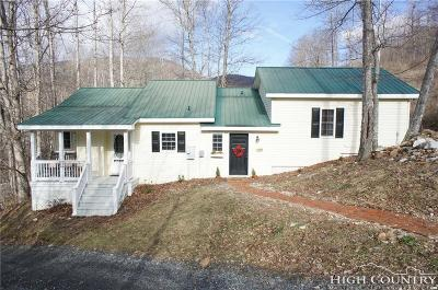 Watauga County Single Family Home For Sale: 127 Middle Ridge Road