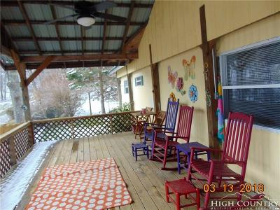 Watauga County Single Family Home For Sale: 2320 Georges Gap Road