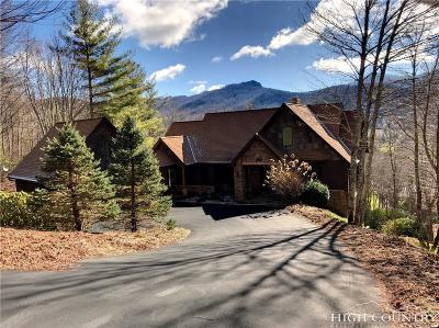 Sugar Mountain Single Family Home Under Contract - Show: 115 Turkey Trail