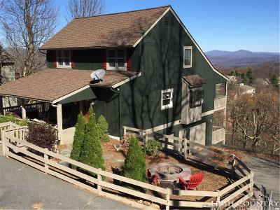 Blowing Rock Single Family Home For Sale: 173 Chipmunk Lane