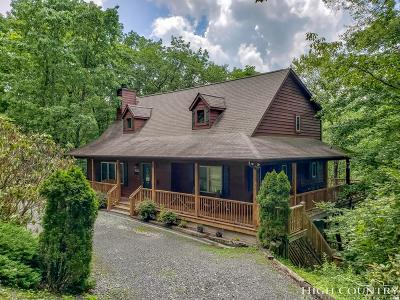Watauga County Single Family Home For Sale: 550 Galax Circle