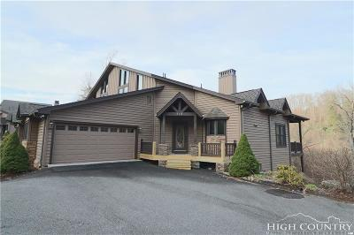 Avery County Condo/Townhouse For Sale: 81b Fawn Trl #b