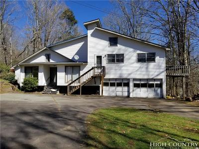 Banner Elk Single Family Home For Sale: 301 Old Turnpike Road