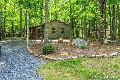 Beech Mountain Single Family Home For Sale: 719 Pine Ridge Road