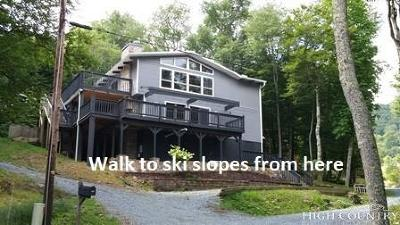 Beech Mountain Single Family Home For Sale: 111 Skiview Lane