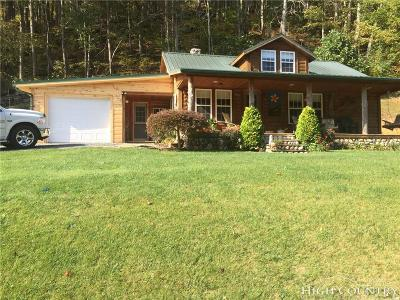 Ashe County Single Family Home For Sale: 309 Campbell Road