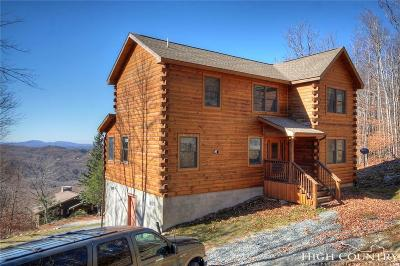 Beech Mountain Single Family Home Under Contract - Show: 105 Lower Snowbird Trail