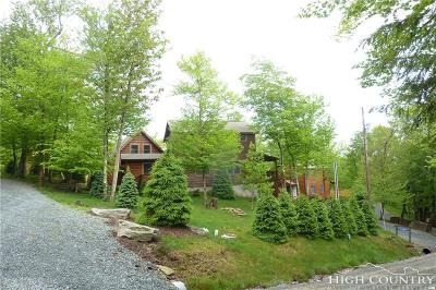 Beech Mountain Single Family Home Under Contract - Show: 101 Groundhog Trail