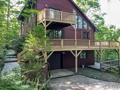 Deep Gap Single Family Home For Sale: 197 High Hollow Road