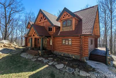 Avery County Single Family Home For Sale: 2128 Eagles Nest Trail