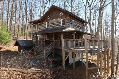 Ashe County Single Family Home For Sale: 279 Little Laurel Trail