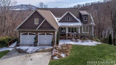 Ashe County Single Family Home For Sale: 142 Fairway Oaks Drive