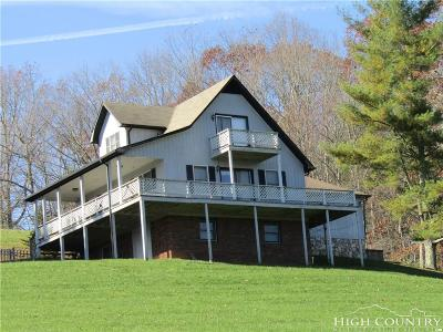 Ashe County Single Family Home For Sale: 296 Keith Street