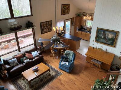 Beech Mountain Single Family Home For Sale: 101 Pond Creek Road