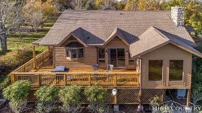 Beech Mountain NC Single Family Home For Sale: $449,900